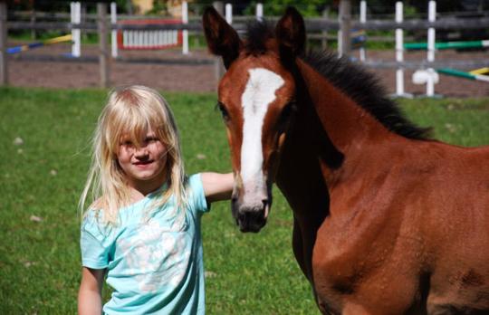 Vår dotter och Balouette